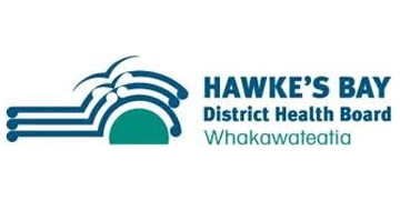 Hawke's Bay District Health Board (DHB) logo