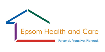 Epsom Health and Care logo