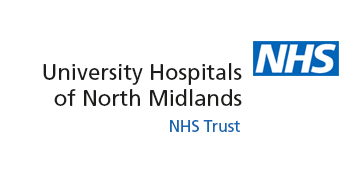University Hospitals of North Midlands NHS Trust logo