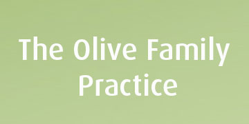 The Olive Family Practice logo