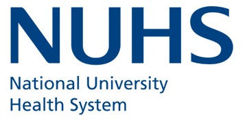 The National University Health System (NUHS) Singapore logo