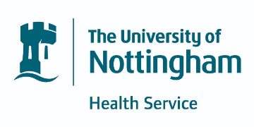 The University of Nottingham Health Service logo