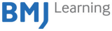 Logo for BMJ Learning. Blue and Grey text