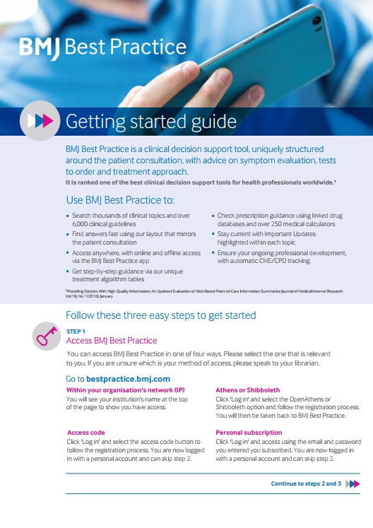 Best Practice Getting Started Guide