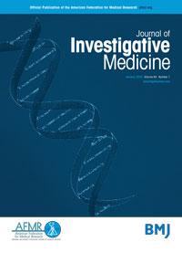 Journal of Investigative Medicine cover
