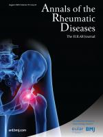 Annals of the Rheumatic Diseases cover