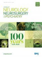 Journal of Neurology, Neurosurgery & Psychiatry cover