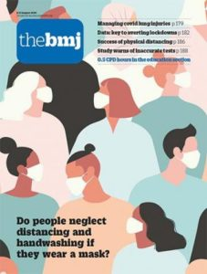 The BMJ cover