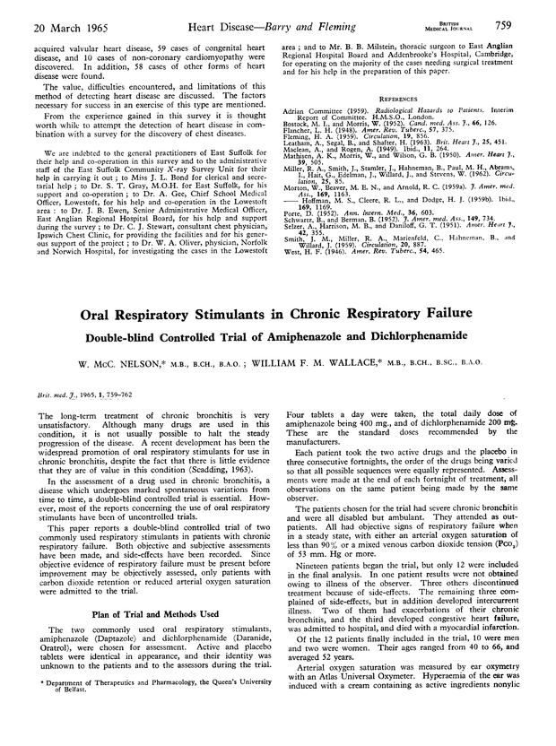 oral respiratory stimulants in chronic respiratory failure | the bmj, Skeleton