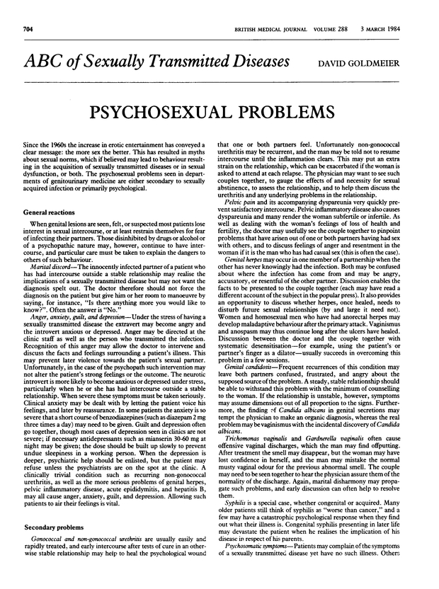 Sexually transmitted disease journal pdfs