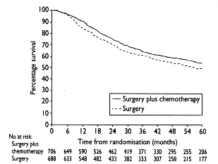 Chemotherapy in non-small cell lung cancer: a meta-analysis