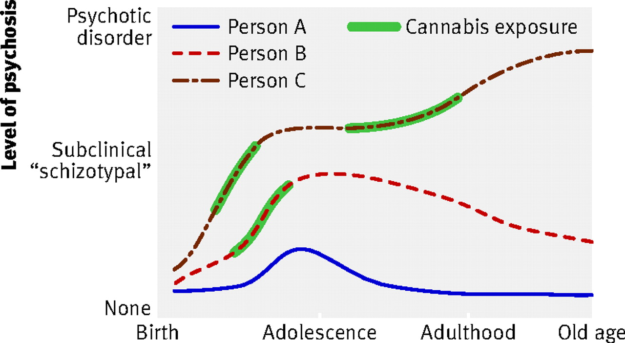Continued Cannabis Use And Risk Of Incidence And Persistence Of