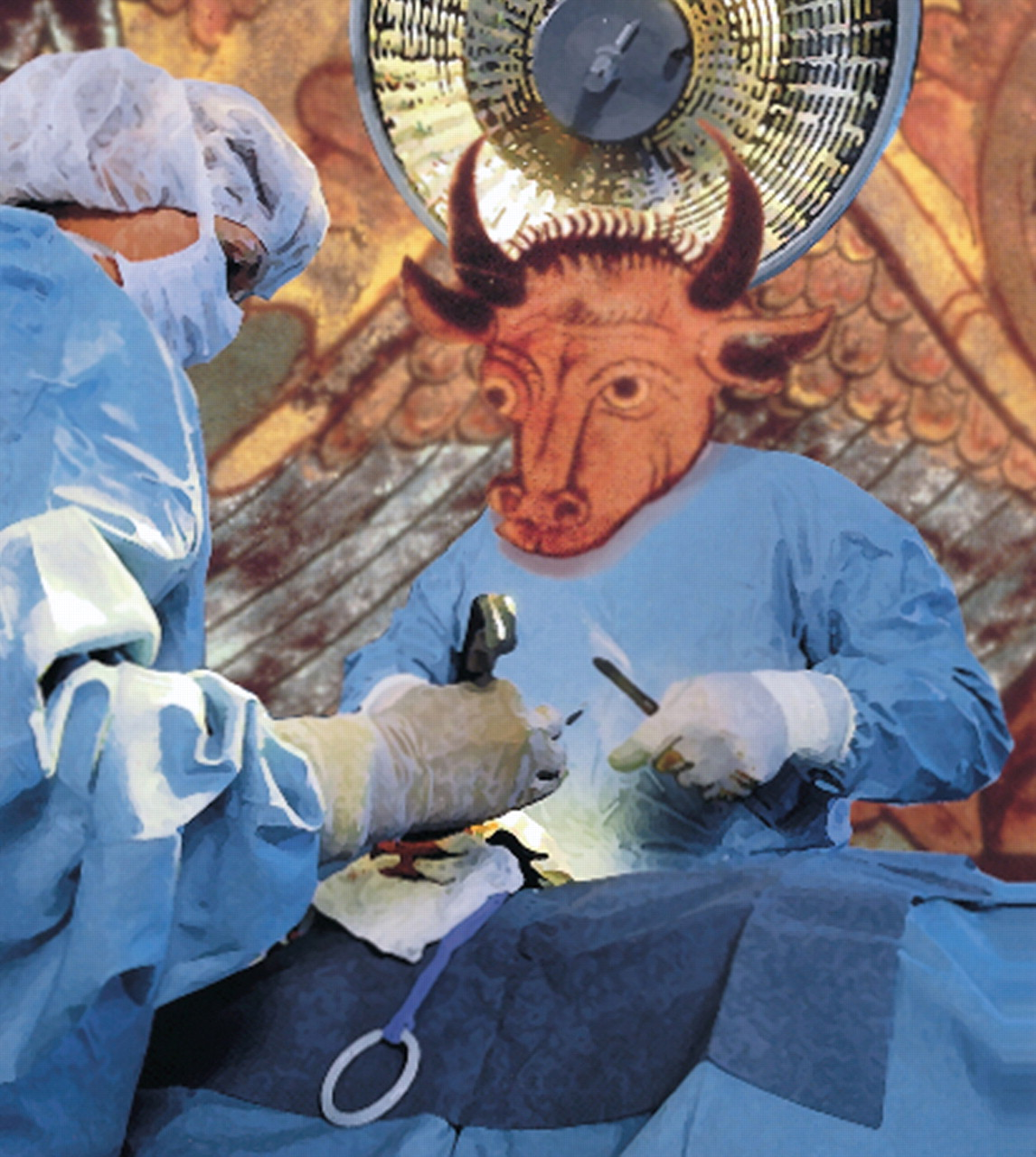 Orthopaedic surgeons: as strong as an ox and almost twice as clever
