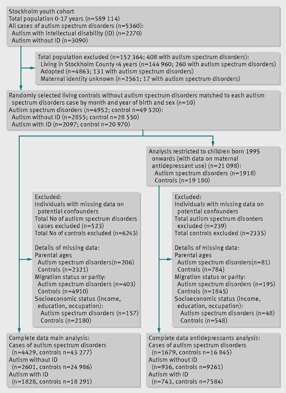 Parental Depression Influences Risk >> Parental Depression Maternal Antidepressant Use During Pregnancy