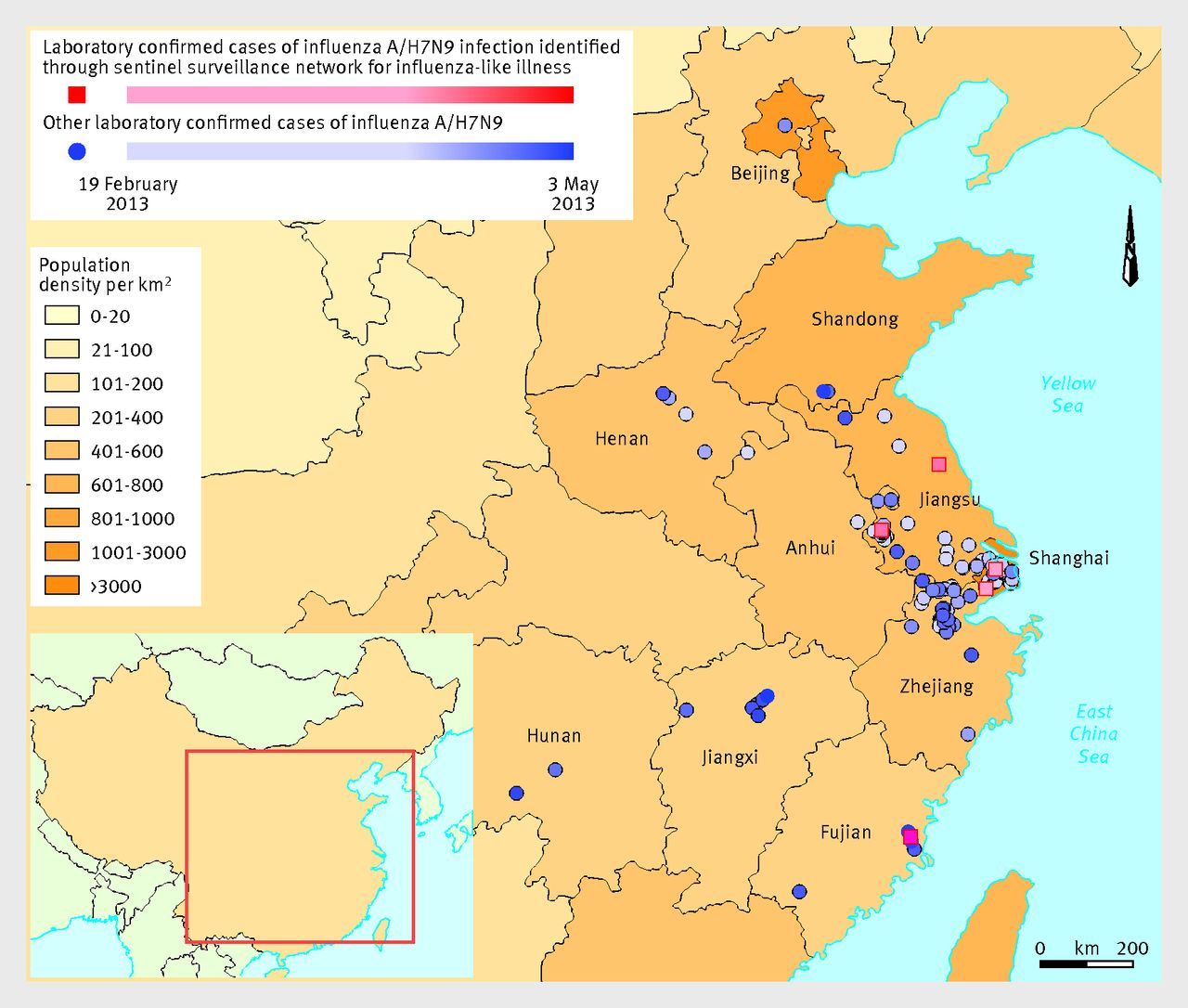 Detection of mild to moderate influenza A/H7N9 infection by China\'s ...