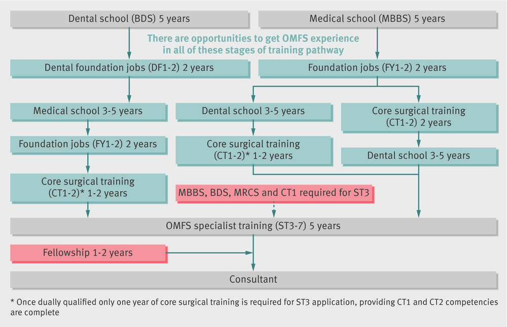 How to become an oral and maxillofacial surgeon | The BMJ