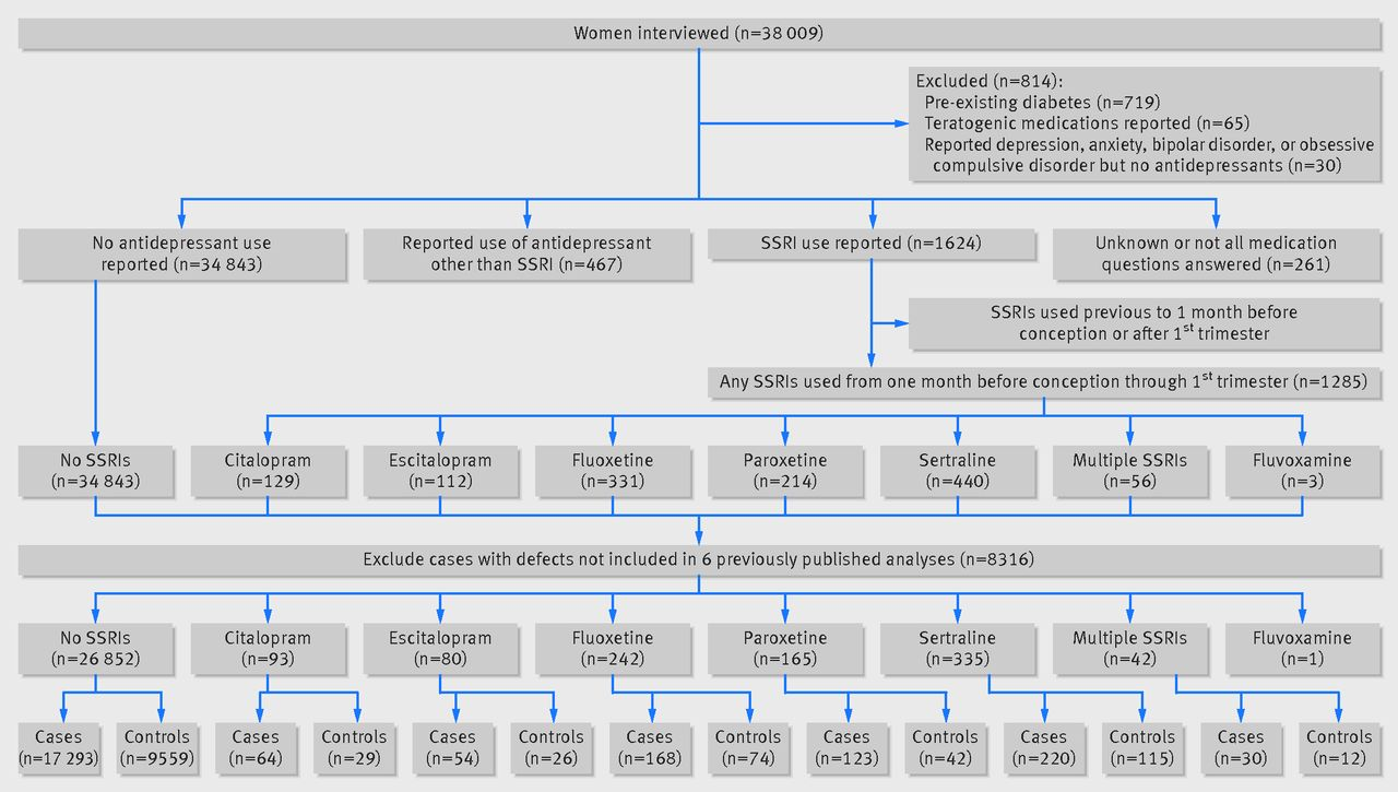 Specific ssris and birth defects bayesian analysis to interpret flow chart of participants through study geenschuldenfo Gallery