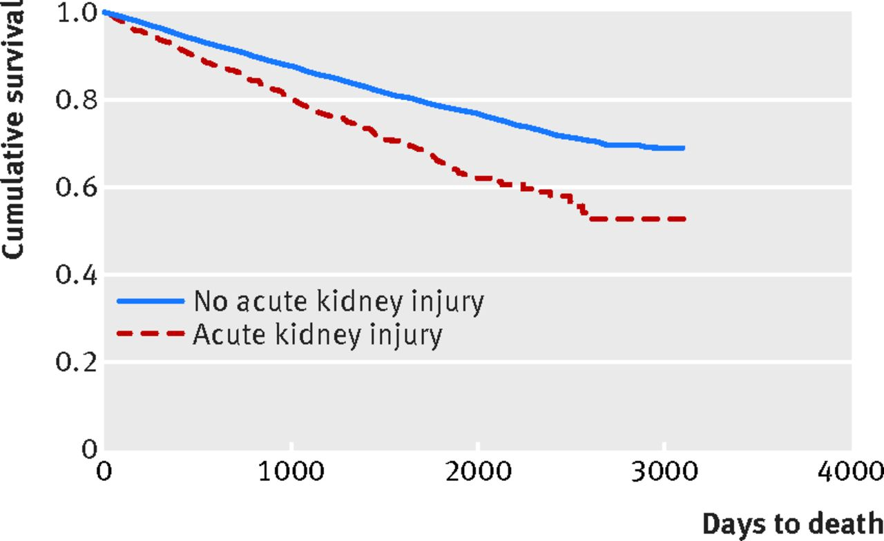 Risk Of Postoperative Acute Kidney Injury In Patients
