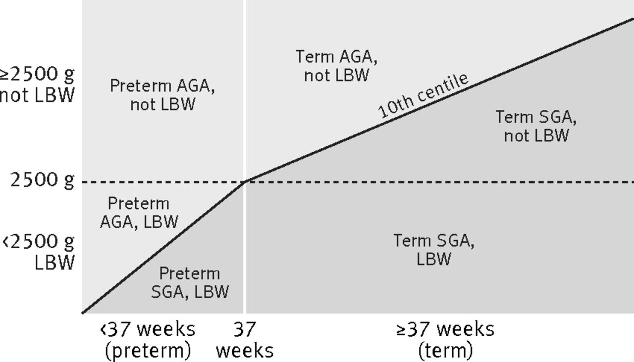Estimates of burden and consequences of infants born small for