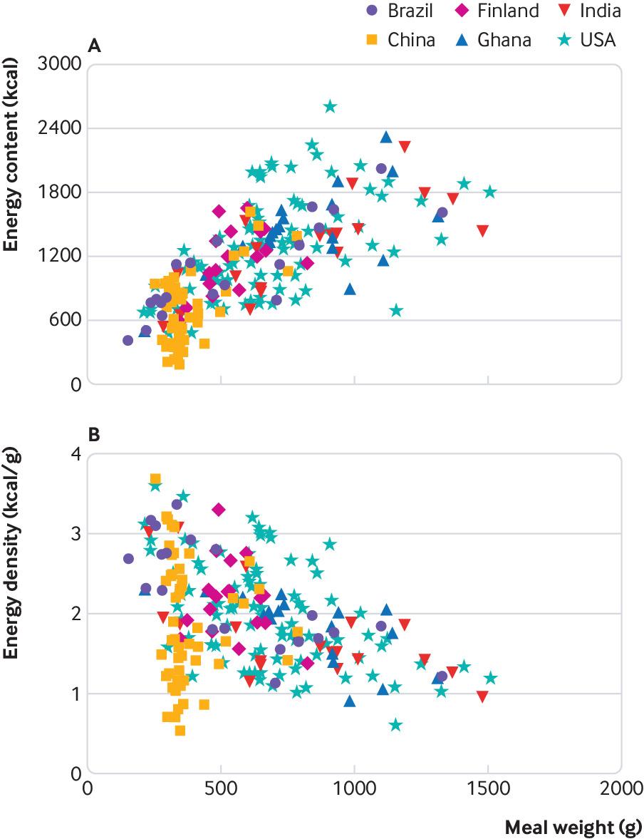 [BMJ圣诞特刊2018]:经常购买的餐馆饮食所含能量的测定:多国横断面研究