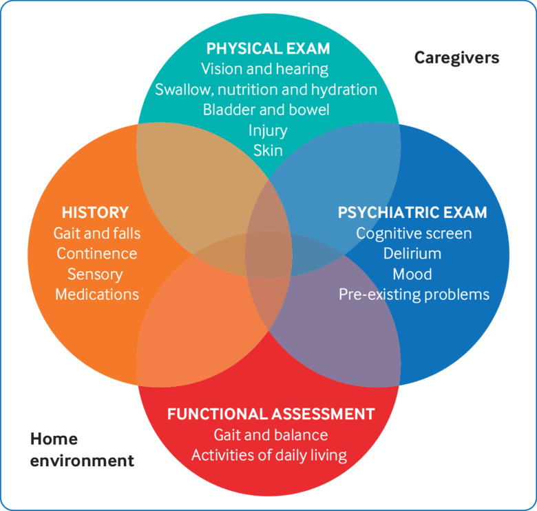 Acute care assessment of older adults living with frailty