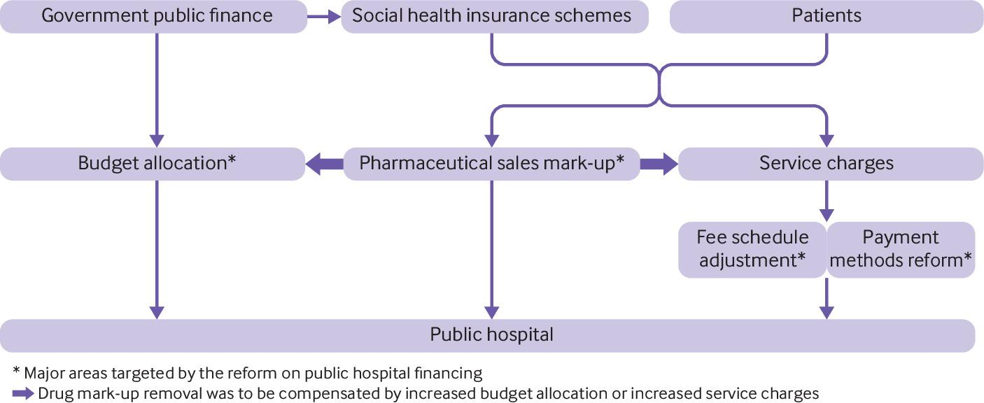Reforming public hospital financing in China: progress and