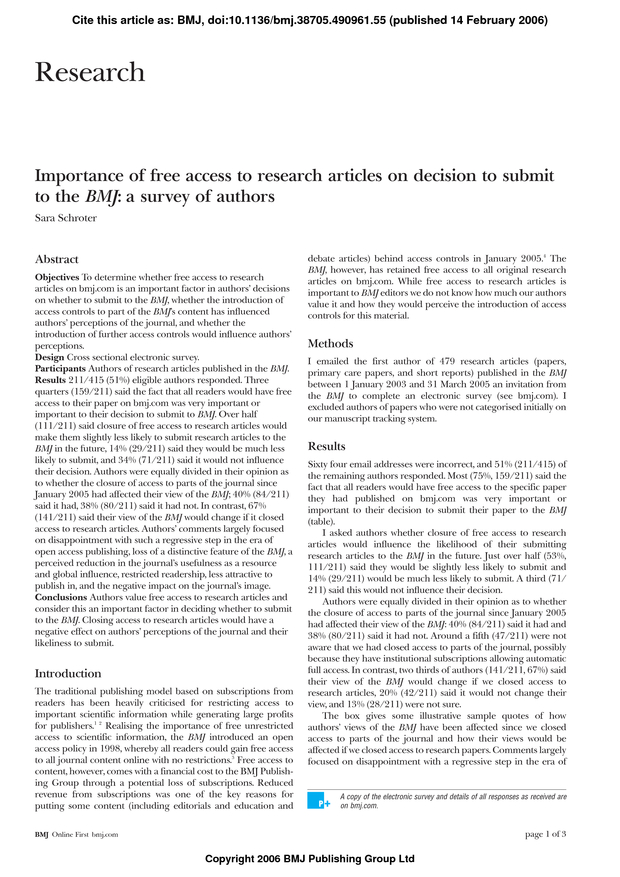 A Research Article