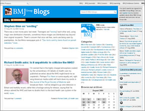 BMJ blogs logo