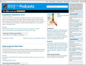 BMJ podcasts