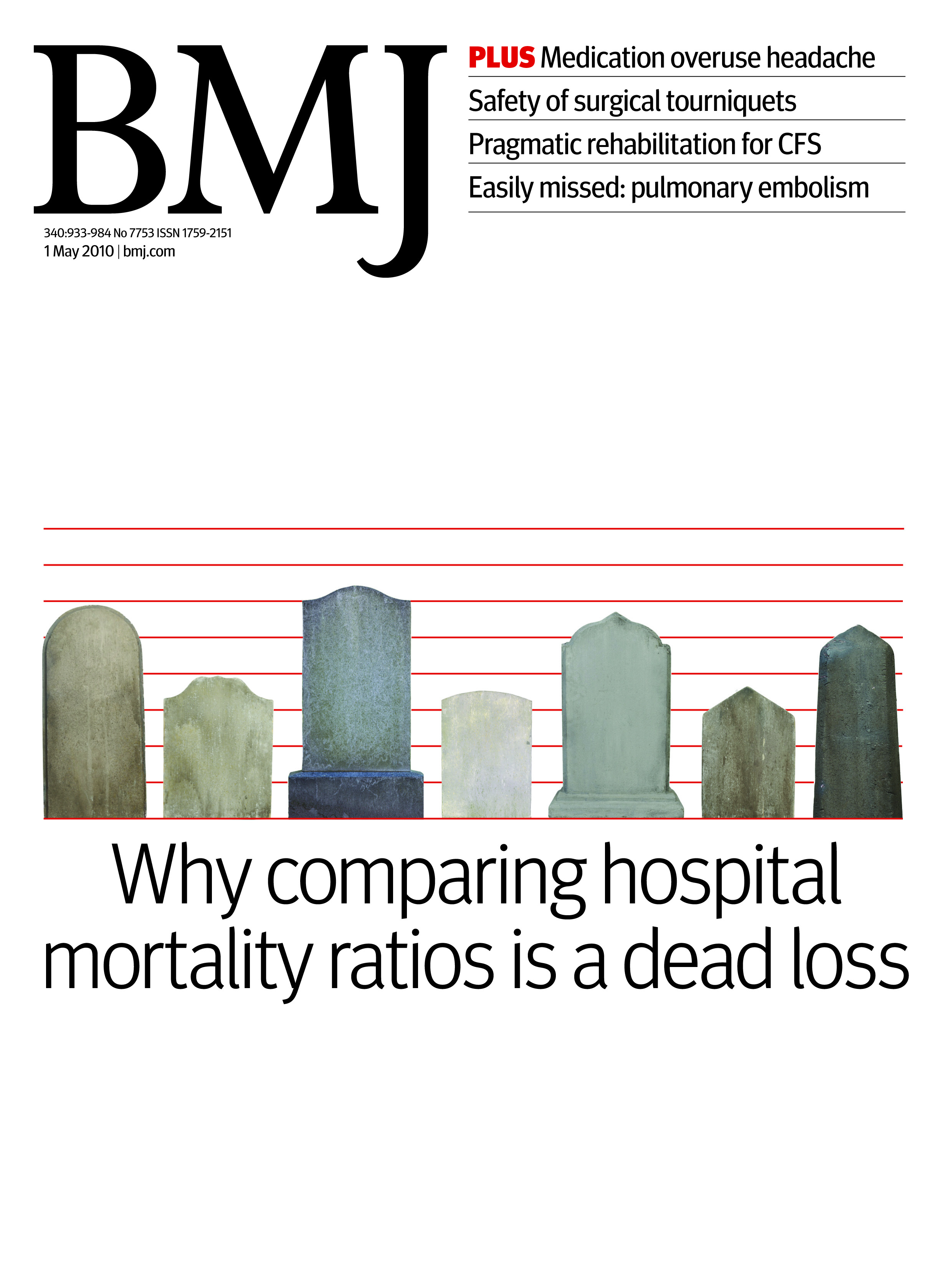 Using hospital mortality rates to judge hospital performance: a bad