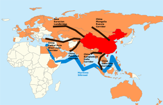 "China's ""new"" silk road 