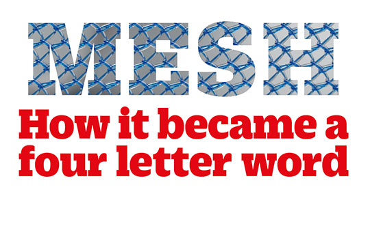 how mesh became a four letter word | the bmj