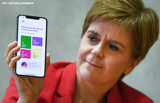 Covid 19 Scotland Launches Contact Tracing App With England And Wales To Follow The Bmj
