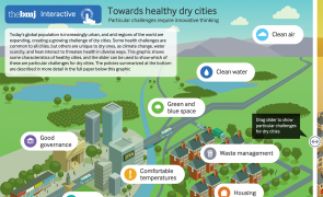Infographic - Towards healthy dry cities
