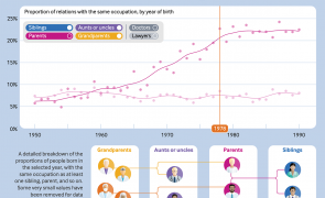 Infographic - Is medicine a family tradition?