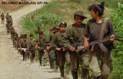 Rebels from the Revolutionary Armed Forces of Colombia
