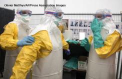 Ebola protective clothing