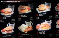 US food agency defines new rules for listing calories on menus