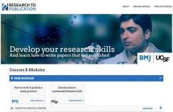 Research to Publication e-learning