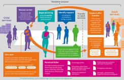Supporting young people in their transition to adults' services