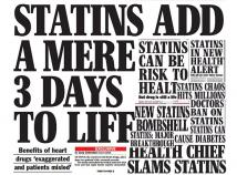 Impact of statin related media coverage on use of statins
