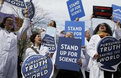 Standing up for science in the era of Trump