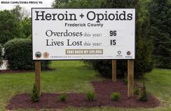 opioid overdose sign