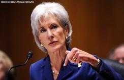 Panelist Kathleen Sebelius, the former US secretary of health.
