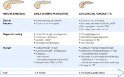 The typical natural history and timeline of chronic pancreatitis