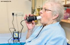 Spirometry lung test