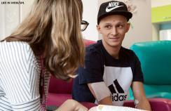 cancer ward teenager