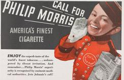 Phillip Morris cigarette advert