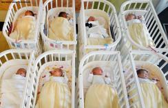 Newborn babies in Germany
