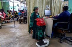 A health clinic in Nairobi, Kenya